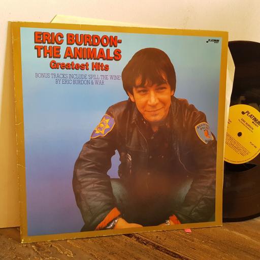 "ERIC BURDON & THE ANIMALS greatest hits bonus tracks by Eric Burdon and War. VINYL 12"" LP. PLAT006"