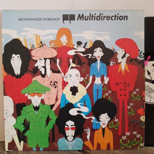 """BROWNSWOOD WORKSHOP multidirection. VINYL 12"""" LP. 5189601"""