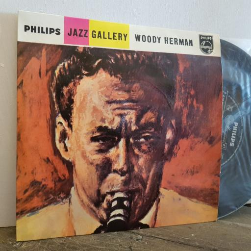 """WOODY HERMAN and his orchestra. jazz GALLERY. 7"""" vinyl 4 TRACK EP SINGLE. BBE12367"""