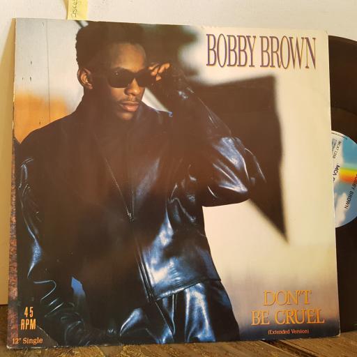 "BOBBY BROWN don't be cruel. EXTENDED VERSION.3 TRACK VINYL 12"" single. MCAT1268"