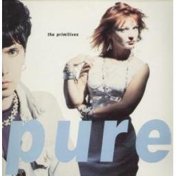 """THE PRIMITIVES pure. 12"""" vinyl lp. PL 74252"""
