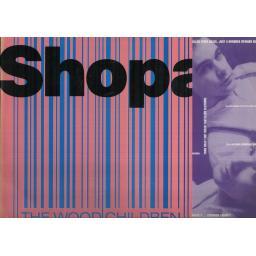 "THE WOOD CHILDREN shopaholic. 12"" VINYL LP. FIEND 155"