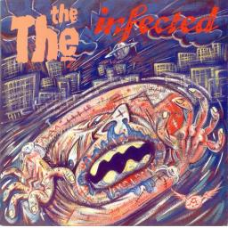 """THE THE infected. 12"""" VINYL LP. EPC 26770"""