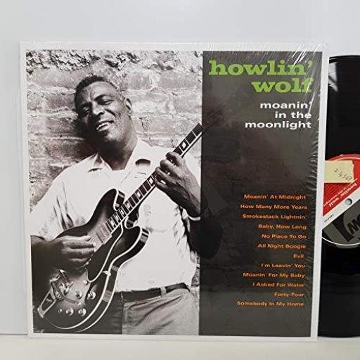 "HOWLIN' WOLF moanin' in the moonlight. CATLP154. 12"" VINYL LP."