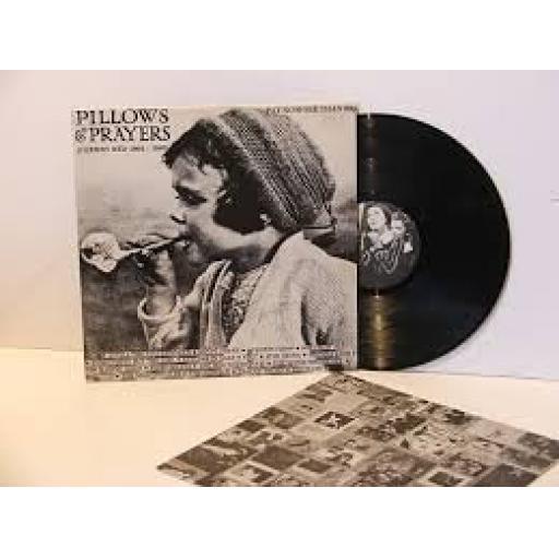 """PILLOWS & PRAYERS. 12"""" VINYL LP. Z RED 41"""