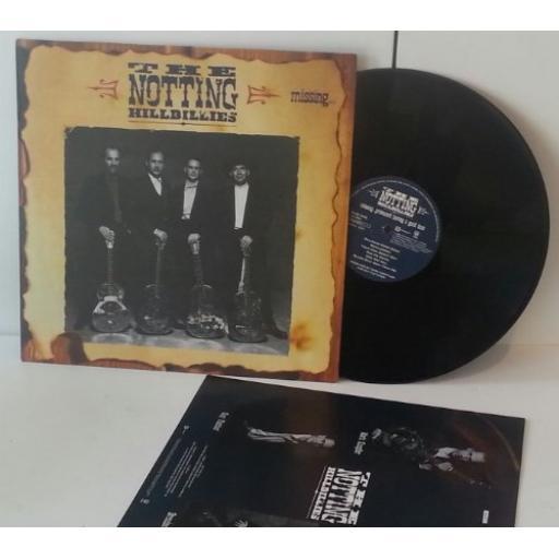 "THE NOTTING HILLBILLIES missingÉpresumed having a good time. 12"" VINYL LP. 842 671-1"