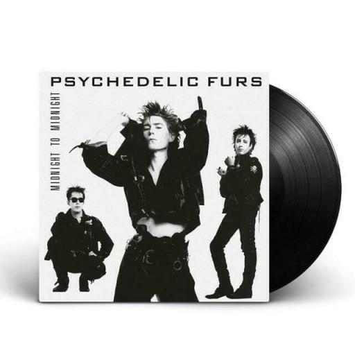 "THE PSYCHEDELIC FURS midnight to midnight. 12"" VINYL LP. 450256-1"