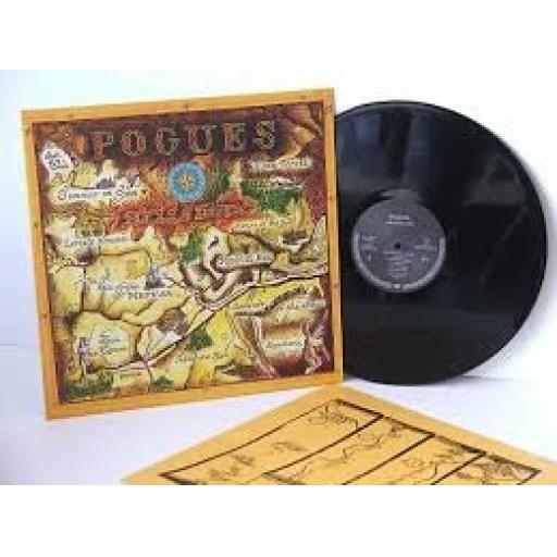 """POGUES hells pitch. 12"""" VINYL LP. 9031-72554-1"""