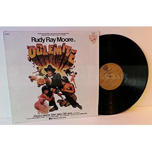 """Rudy Ray Moore Is """"Dolemite"""" (From The Original Motion Picture Soundtrack). 12"""" vinyl LP, GEN2501"""