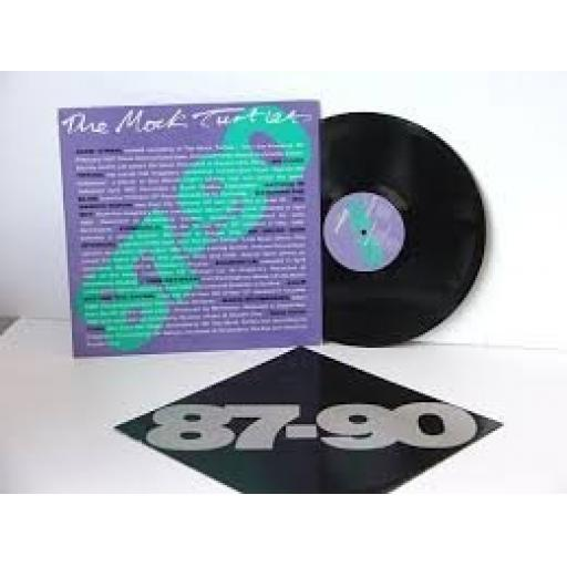 "THE MOCK TURTLES 87 to 90. 12"" VINYL LP. ILLUSION 019"
