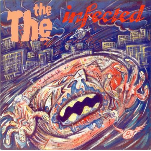 "THE THE infected. 12"" VINYL LP. EPC 26770"