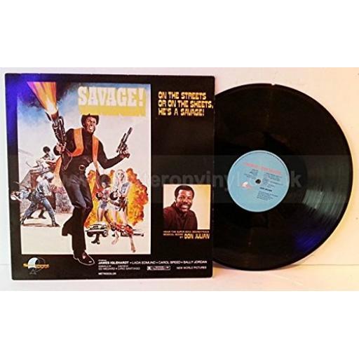 """Don Julian. Savage. Super Soul Soundtrack. 12"""" VINYL LP. SEWD114"""