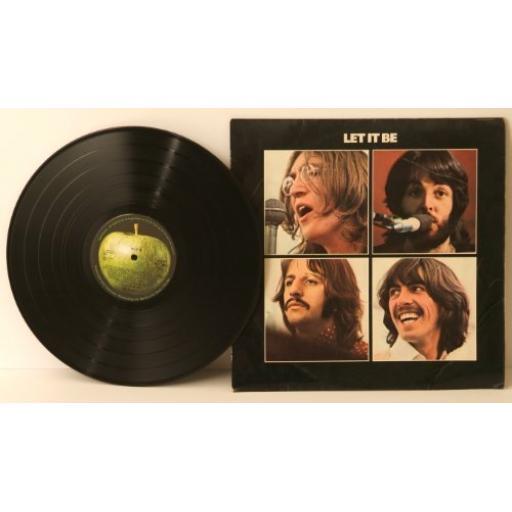 """THE BEATLES Let it be. 12"""" VINYL LP. PCS7096"""