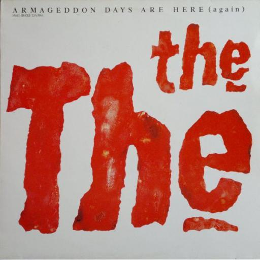 """THE THE - Armageddon Days Are Here. 10"""" VINYL EP. EMU QT10"""