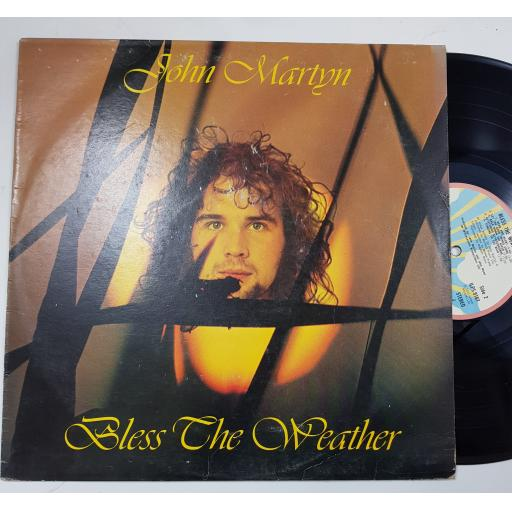 "JOHN MARTYN, Bless the weather. 12"" VINYL LP. ILPS9167"
