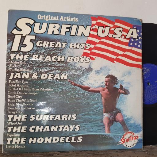 "BEACH BOYS. JAN and DEAN. THE CHANTAYS ETC Surfin' usa, 12"" vinyl LP. SHM974"