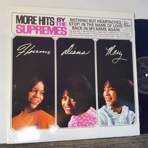 "DIANA ROSS & THE SUPREMES More hits, 12"" vinyl LP compilation. STMS5090"