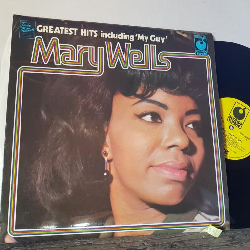 "MARY WELLS Greatest hits, 12"" vinyl LP compilation. SPR90008"