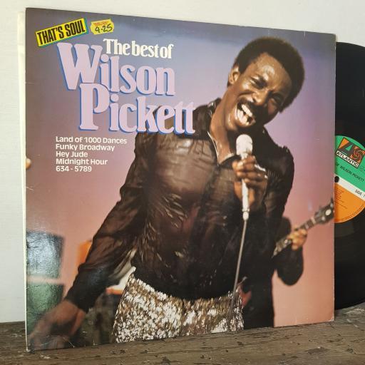 "WILSON PICKETT The best of, 12"" vinyl LP compilation. K50750"