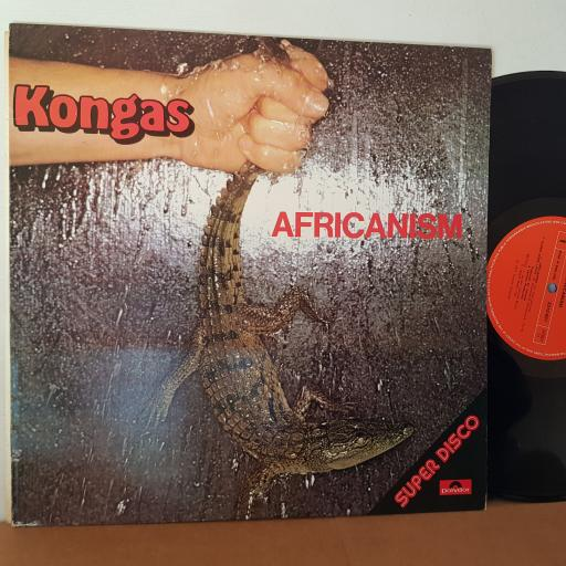 "KONGAS Africanism 12"" VINYL LP. 2310601"