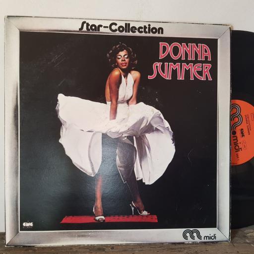 "DONNA SUMMER Star-collection, 12"" vinyl LP compilation. MID20109"
