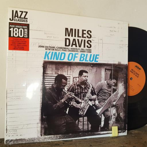 "MILES DAVIS Kind of blue, 12"" vinyl LP. JWR4534"
