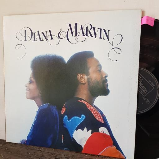 """DIANA AND MARVIN, 12"""" vinyl LP. STMA8015"""