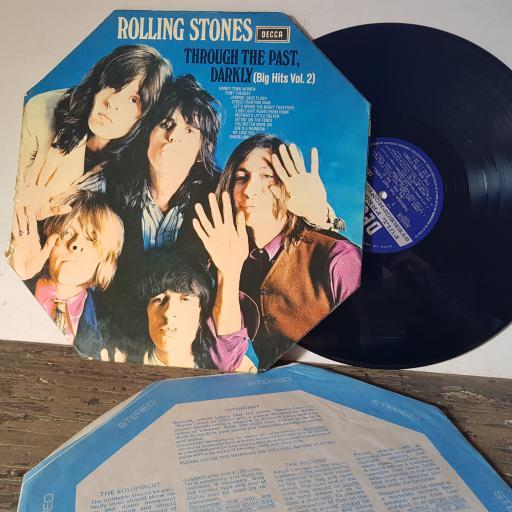 "THE ROLLING STONES Through the past, darkly (big hots vol.2), 12"" vinyl LP compilation. SKL5019"