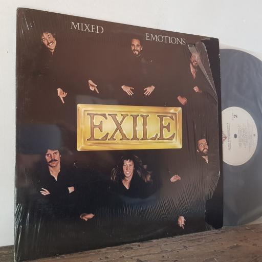 "EXILE Mixed emotions, 12"" vinyl LP. BSK3205"