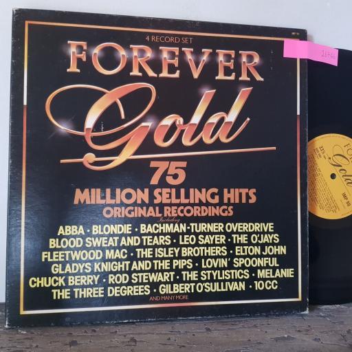 "ABBA. BLONDIE. FLEETWOOD MAC. ELTON JOHN. ETC Forever gold, 4x 12"" vinyl LP compilation. IMP90"