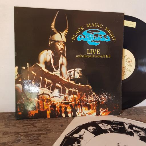 "OSIBISA Black magic night, 2X 12"" vinyl LP. BRON505"