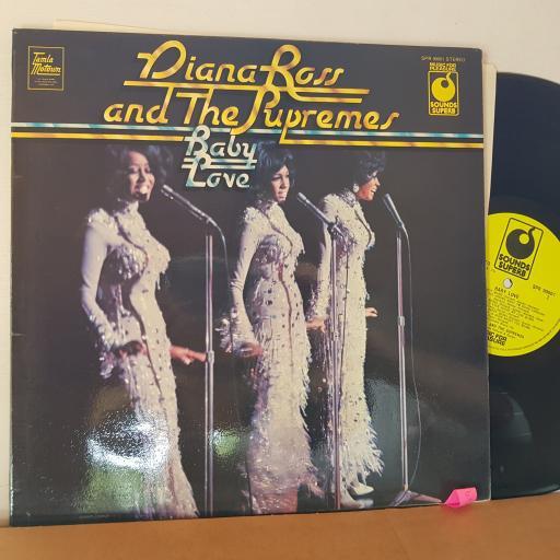 "DIANA ROSS Baby love, 12"" vinyl LP compilation. SPR90001"