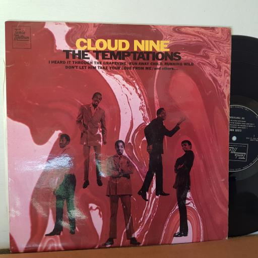 "CLOUD NINE. The temptations, 12"" VINYL LP,TML 11109"