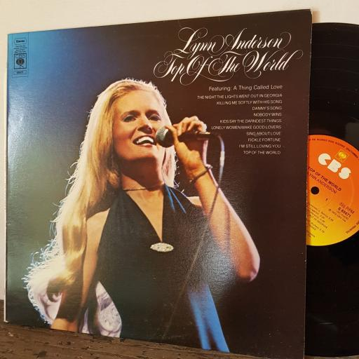 "LYNN ANDERSON Top of the world, 12"" vinyl LP. S65671"