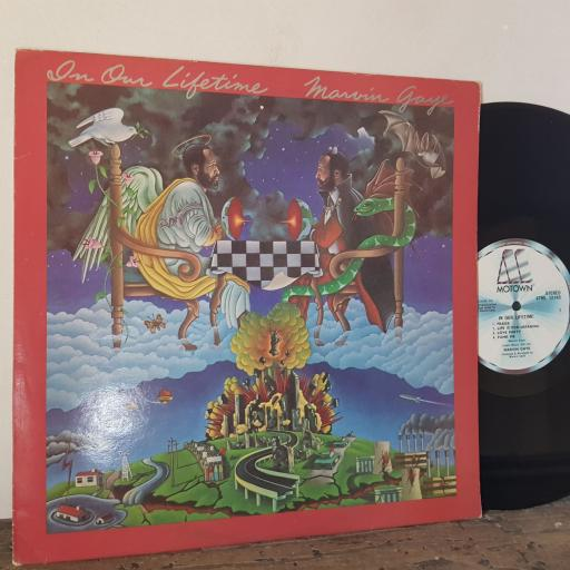 "MARVIN GAYE In our lifetime, 12"" vinyl LP. STML12149"