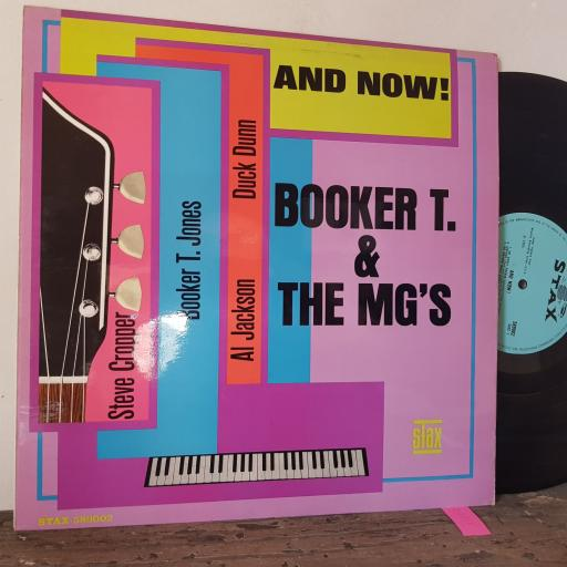 """BOOKER T & THE MG's And now!, 12"""" vinyl LP. 589002"""