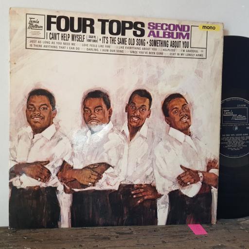 """FOUR TOPS Second album, 12"""" vinyl LP. TML11021"""