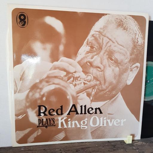 """RED ALLEN Plays king oliver, 12"""" vinyl LP. ST567"""