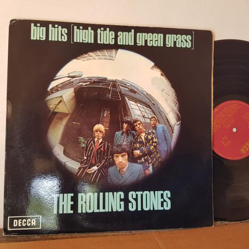 """THE ROLLING STONES, Big Hits (high tide and green grass), 12"""" VINYL, TXS101"""
