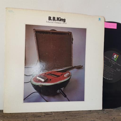 "B.B. KING Indianola mississippi seeds, 12"" vinyl LP. ABCS713"