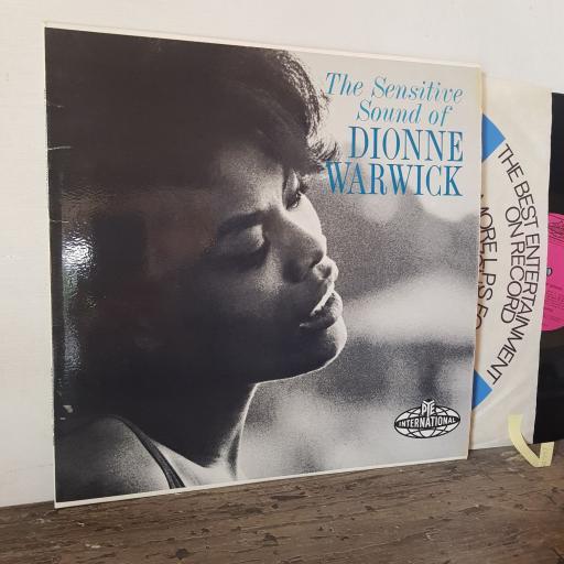 "DIONNE WARWICK The sensitive sound of dionne warwick, 12"" vinyl LP. NPL28055"