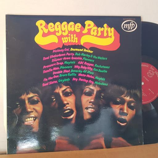 "VARIOUS Reggae party, 12"" vinyl LP compilation. MFP5176"