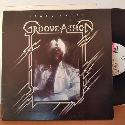"ISAAC HAYES groove-a--thon 12"" VINYL LP. ABCD5155."