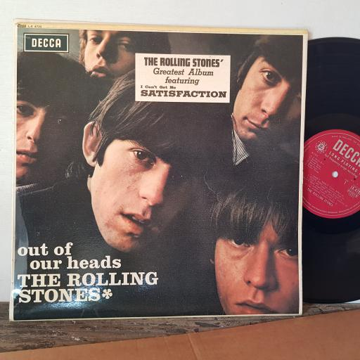 """THE ROLLING STONES, Out of our heads, 12"""" VINYL, LK4725"""