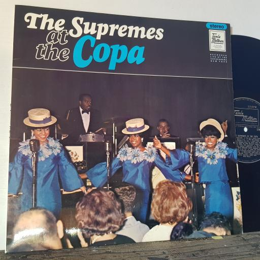 "THE SUPREMES At the copa, 12"" vinyl LP. STML11026"