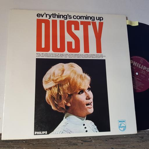 "DUSTY SPRINGFIELD Ev'rything's coming up dusty, 12"" vinyl LP. 63234BL"