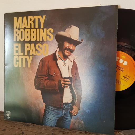 """MARTY ROBBINS El paso city, 12"""" vinyl LP. SCBS81561"""