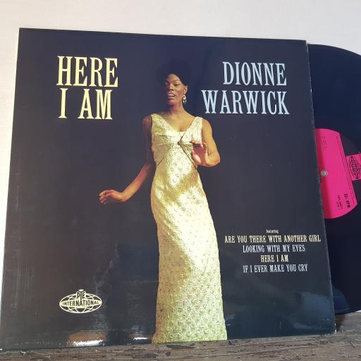 "DIONNE WARWICK Here I am, 12"" vinyl LP. NPL28071"
