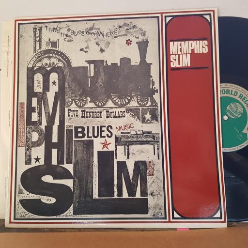 """MEMPHIS SLIM, 12"""" vinyl LP. T394"""