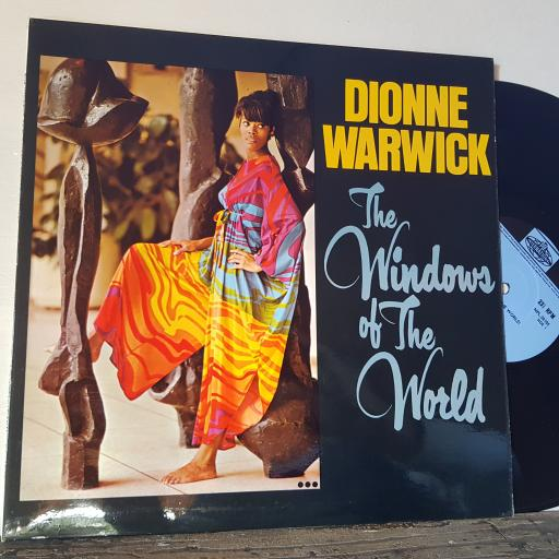 "DIONNE WARWICK The windows of the world, 12"" vinyl LP. NPL28105"